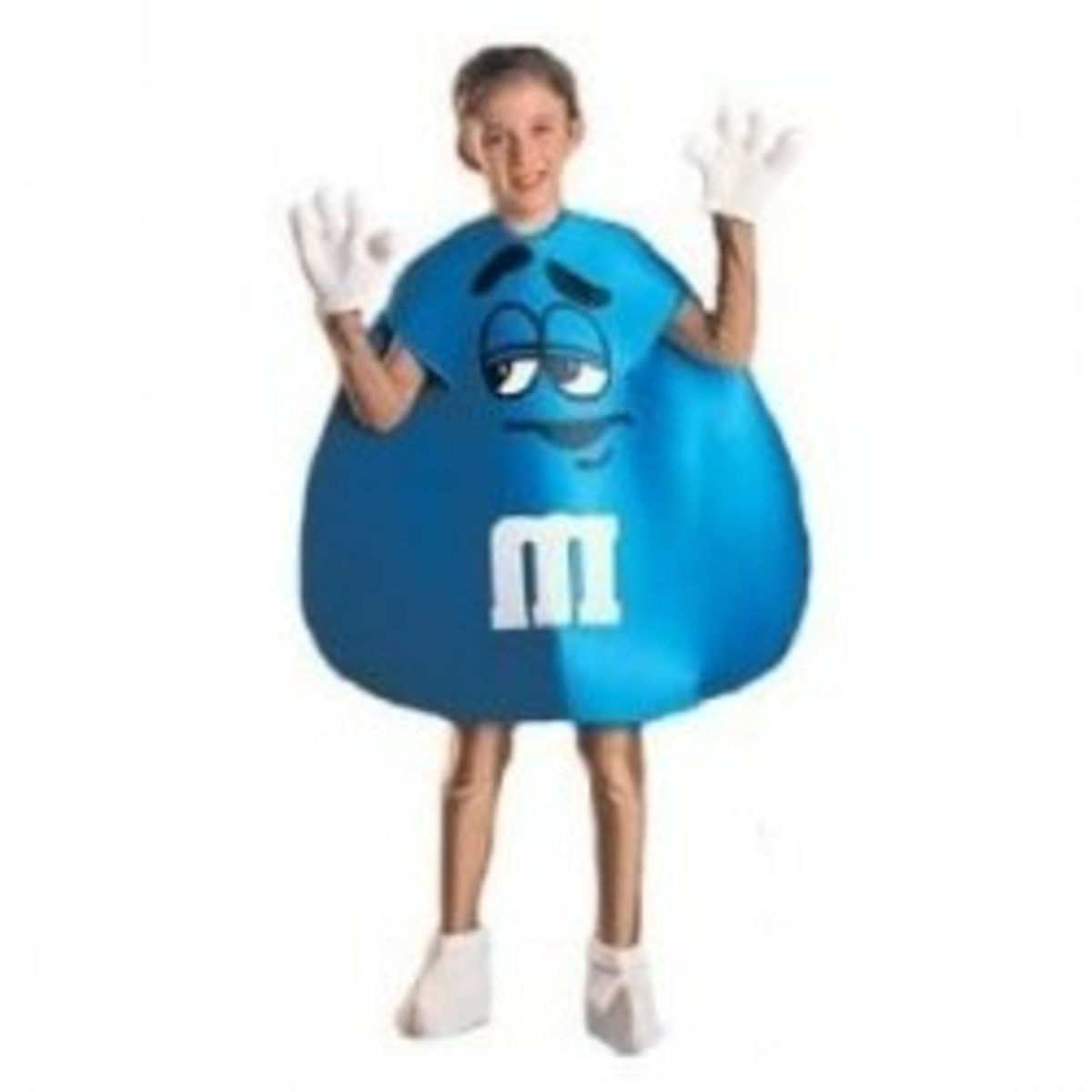 Low Cost M&M Candy Child Costume