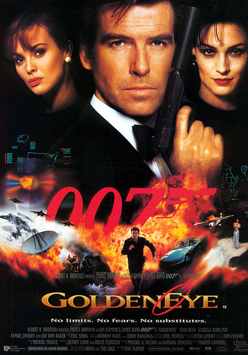 Goldeneye (1995) - Illustrated Reference