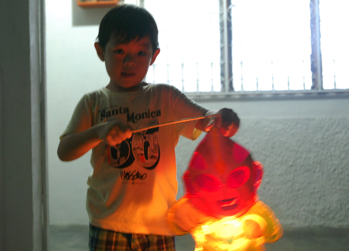 Moon-cake festival is also celebrated by children with their brightly-lit lanterns of all shapes and sizes