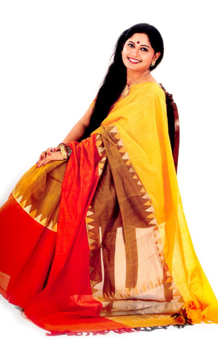 saree-for-mehendi-and-holud