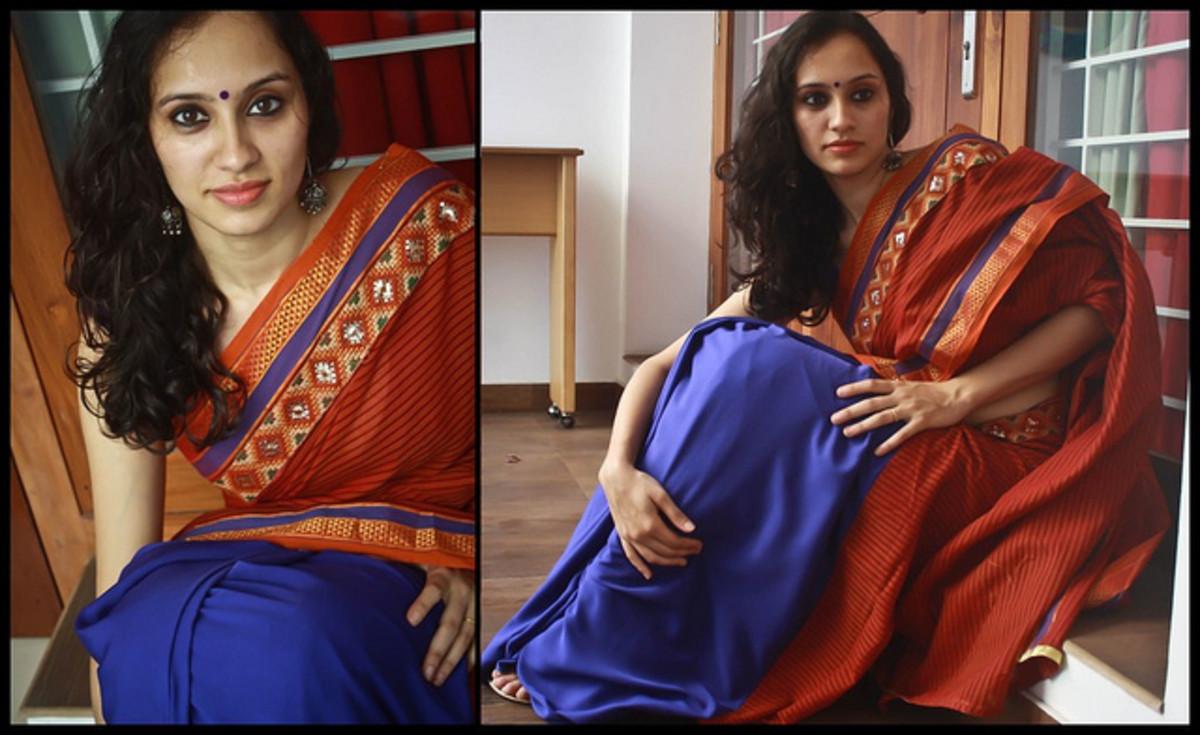 Gorgeous Silk Katan Saree for Holud or Mehendi