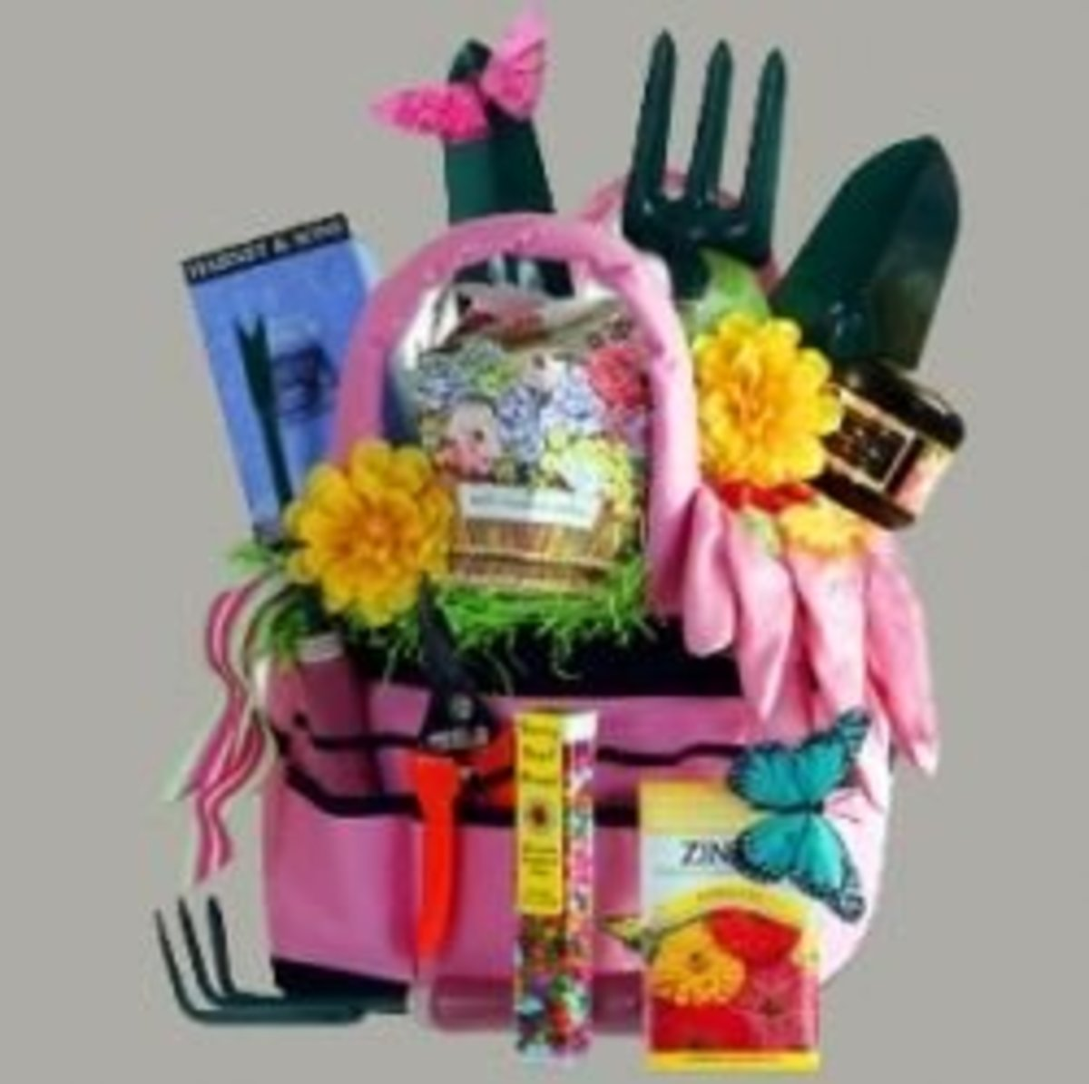 Pta silent auction baskets for Gardening gifts for men