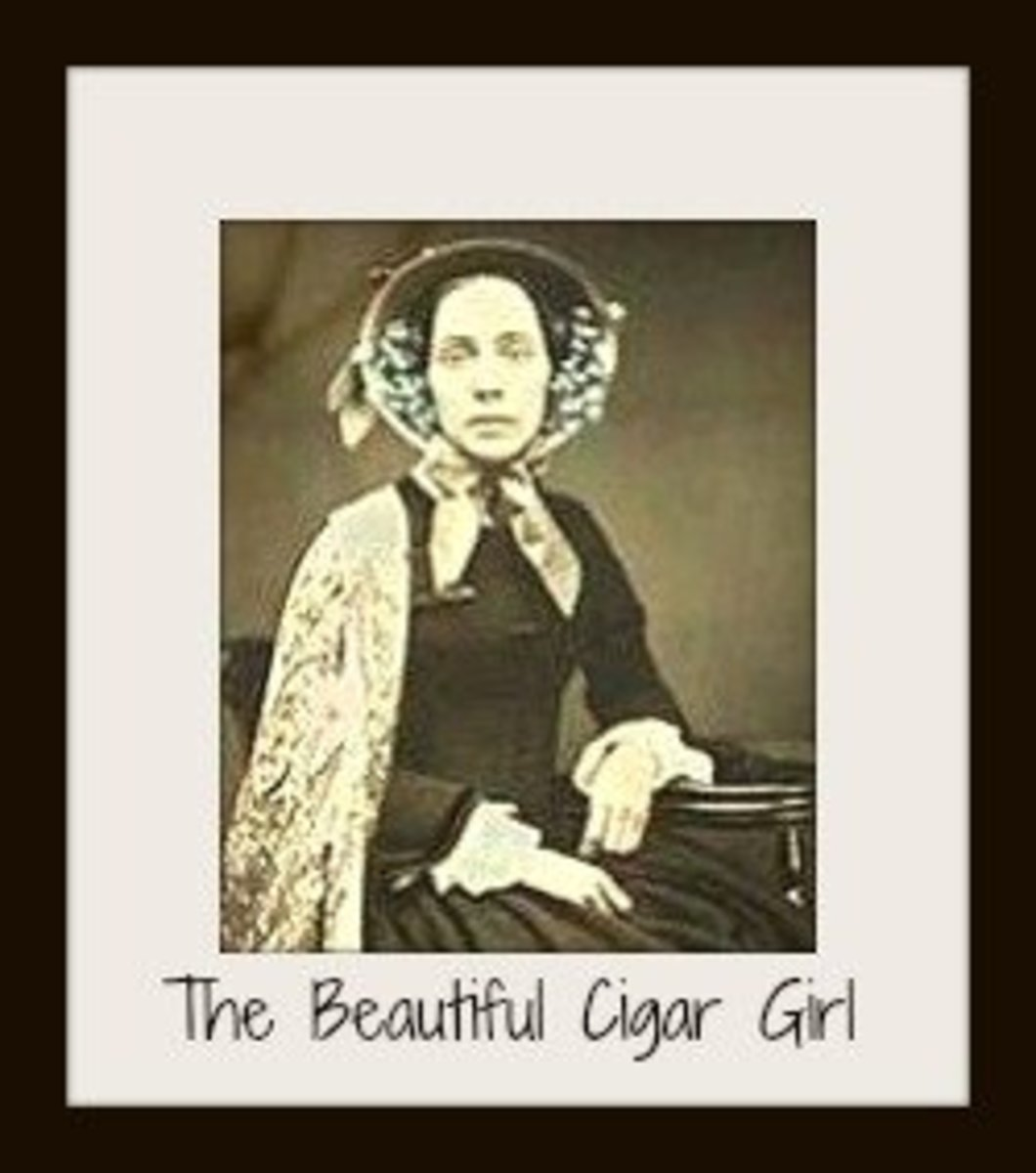 Death of the Beautiful Cigar Girl, Was Edgar Allan Poe the Murderer?