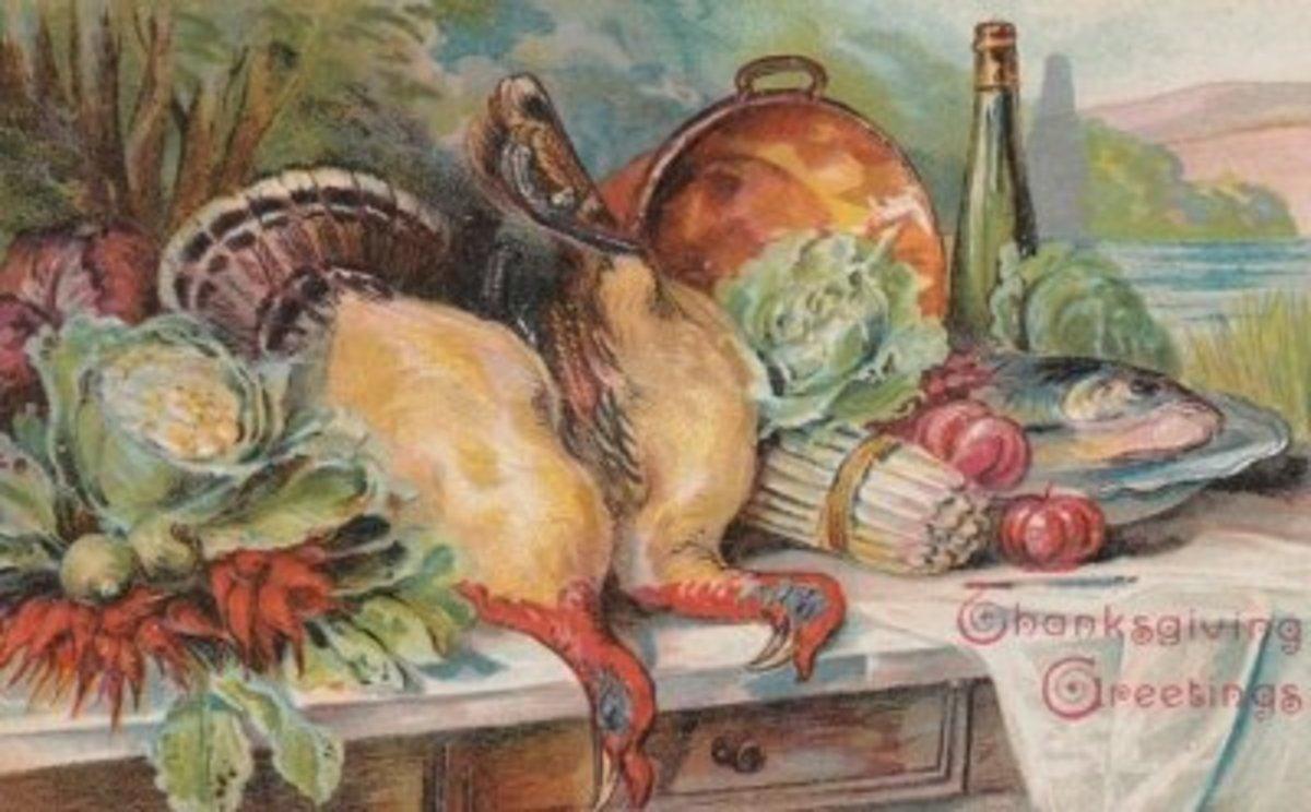 Thanksgiving Bounty Still Life