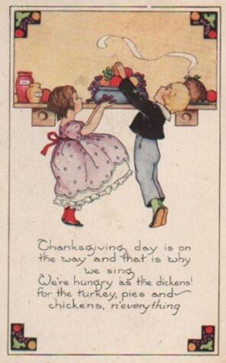 Art Deco Thanksgiving Dinner