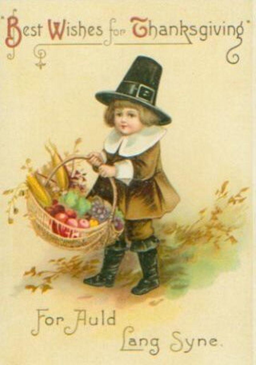 Little Pilgrim Boy