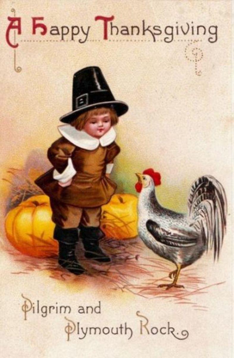 Little Pilgrim Scolding