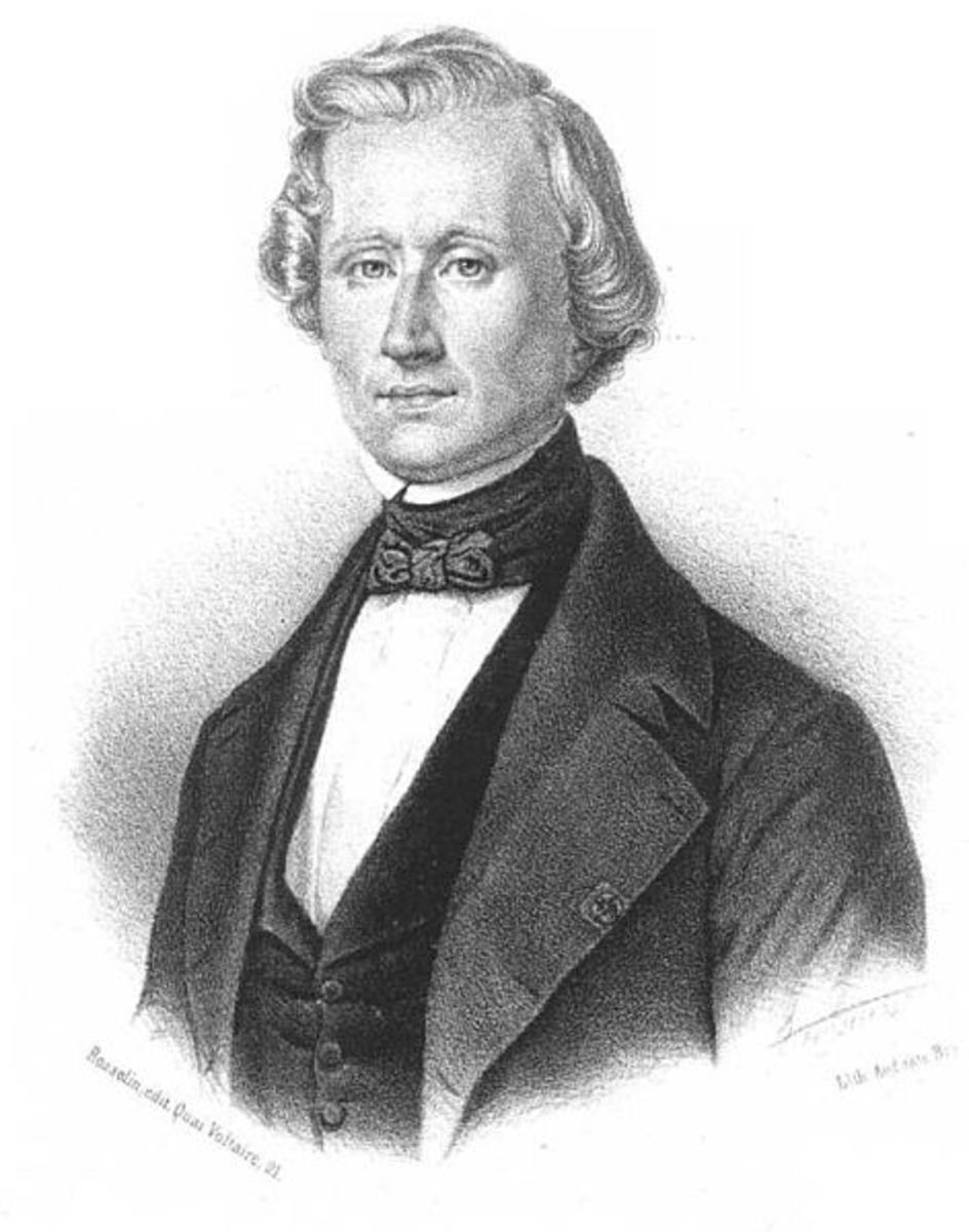 Urbain le Verrier, who calculated the existence of Neptune.