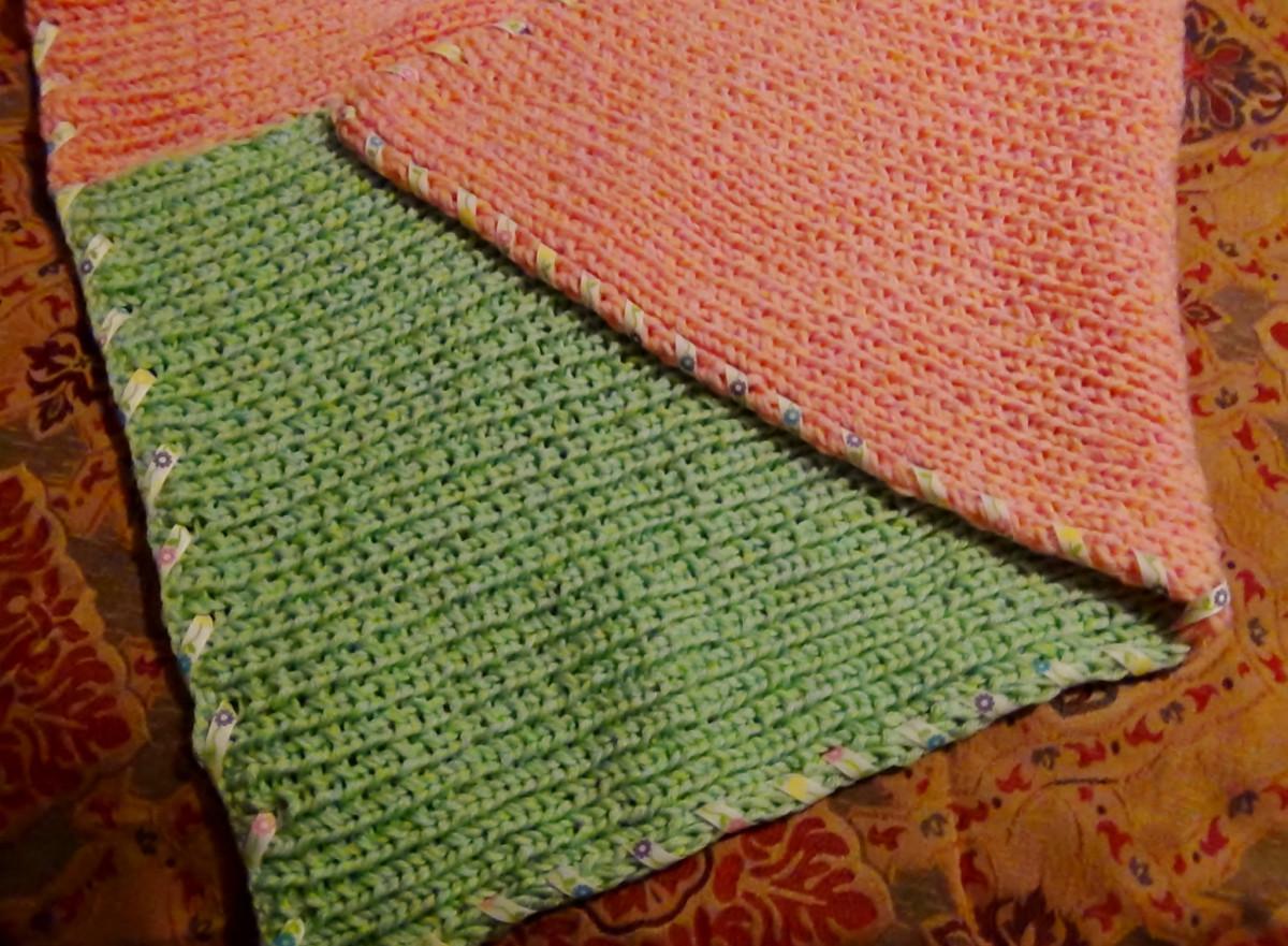 Toddler Blanket Pattern for the Knifty Knitter Blue Long Loom