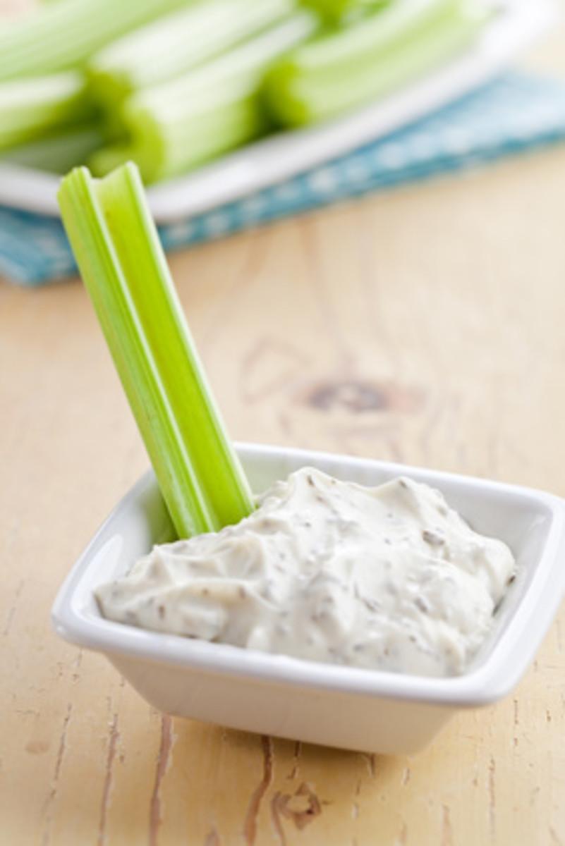 Celery sticks are great with dips.Image:  © Jiri Hera - Fotolia.com