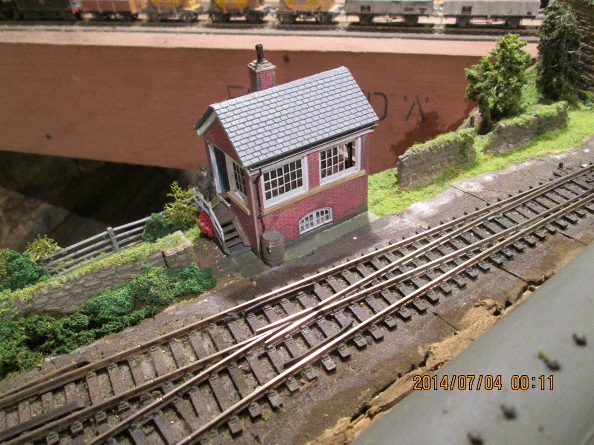 RITES OF PASSAGE FOR A MODEL RAILWAY - 3 Base Boards, Track, Basic Trackside Scenics