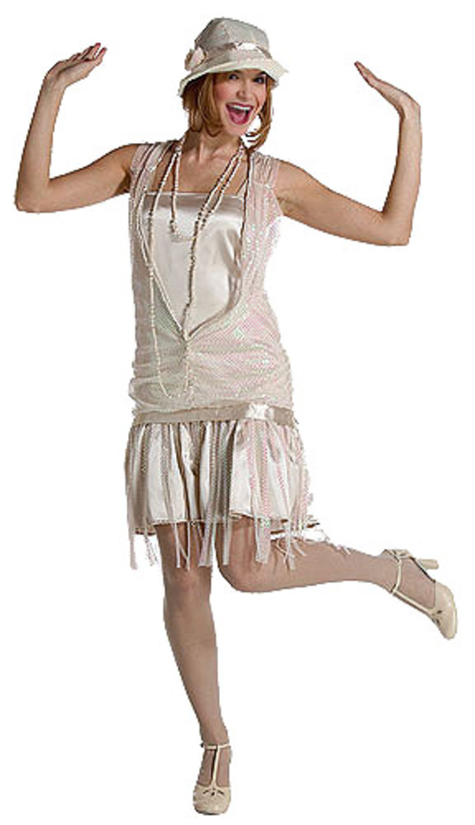 Vintage Halloween Costume Flapper