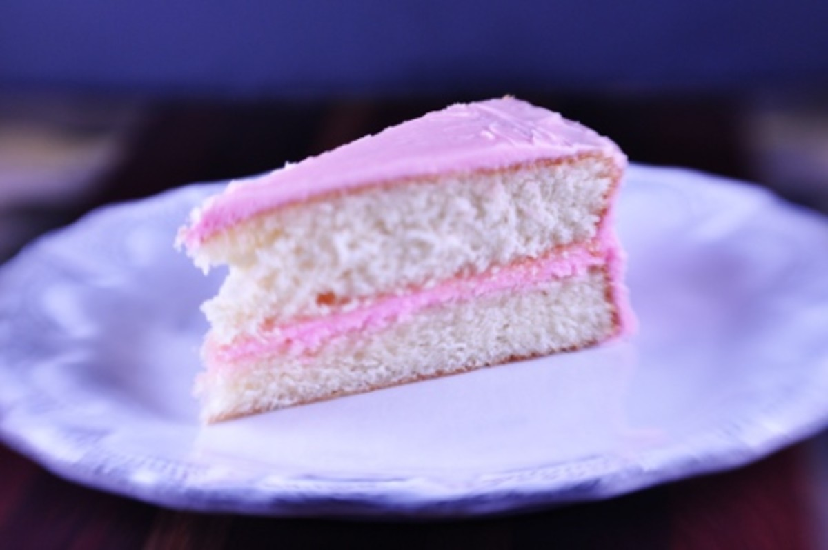 Simple Delicious White Cake