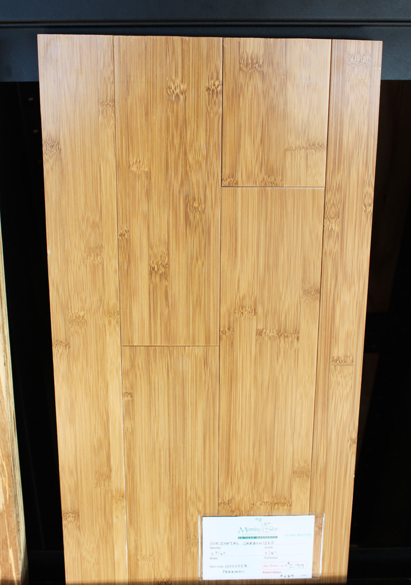 Horizontal Bamboo Flooring Sample