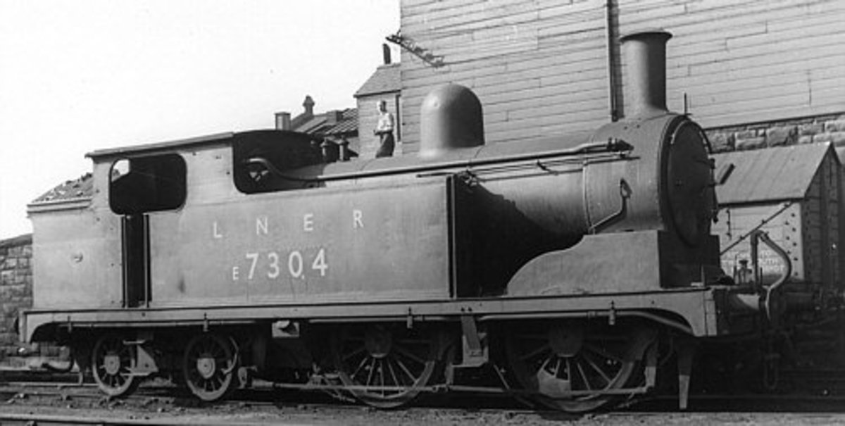 Here we have a Class G5 in late LNER/early BR livery to show what the locomotive would have looked like in post-War years