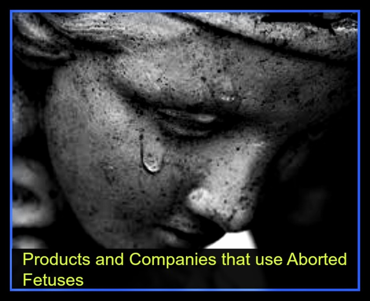Products and Companies that use Aborted Fetuses