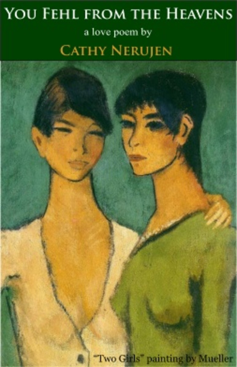 """""""Two Girls"""" painting by Mueller"""