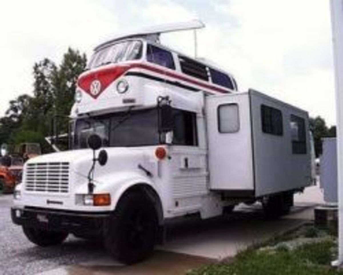 Unusual Motorhomes