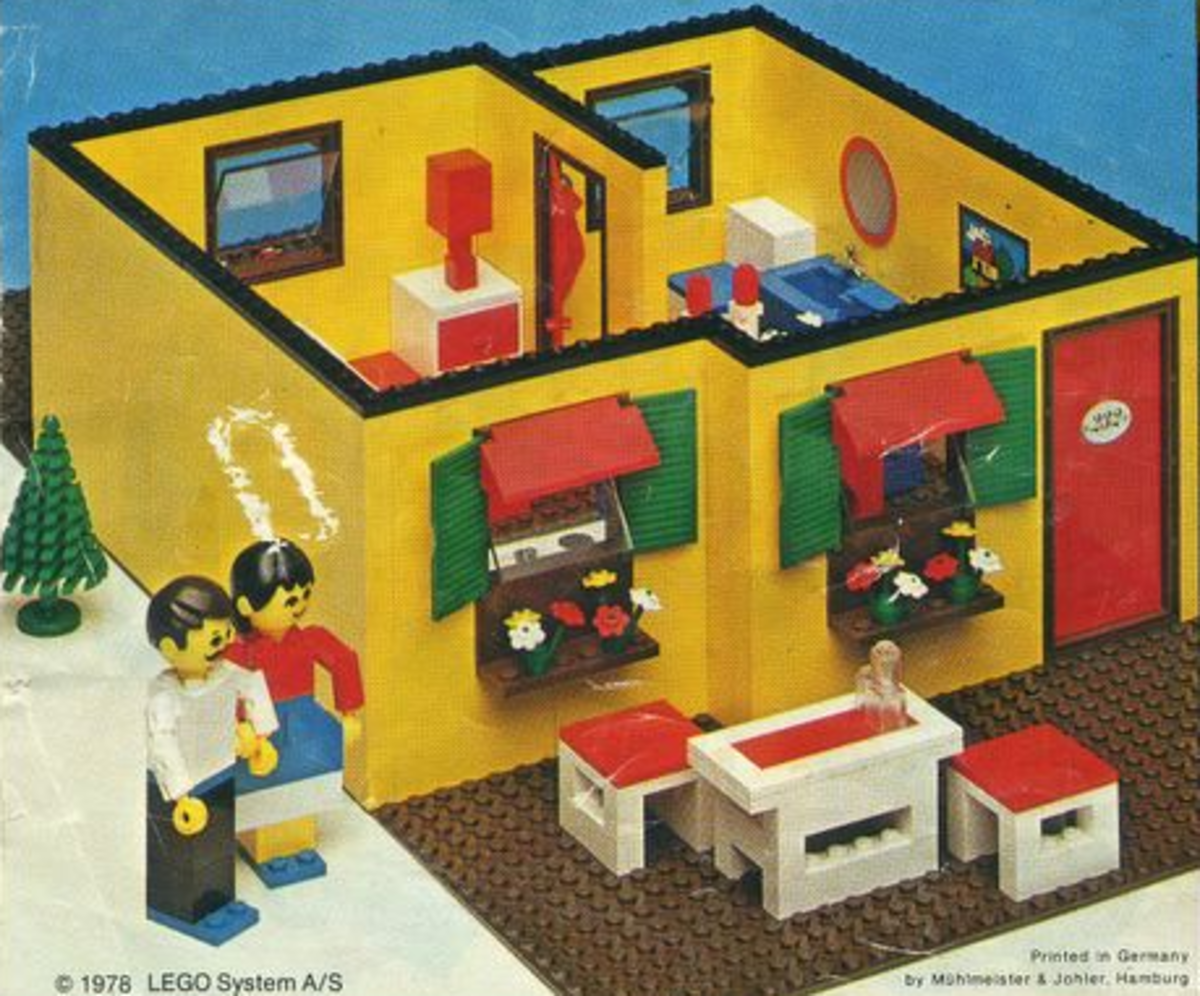 how to build a lego house from scratch