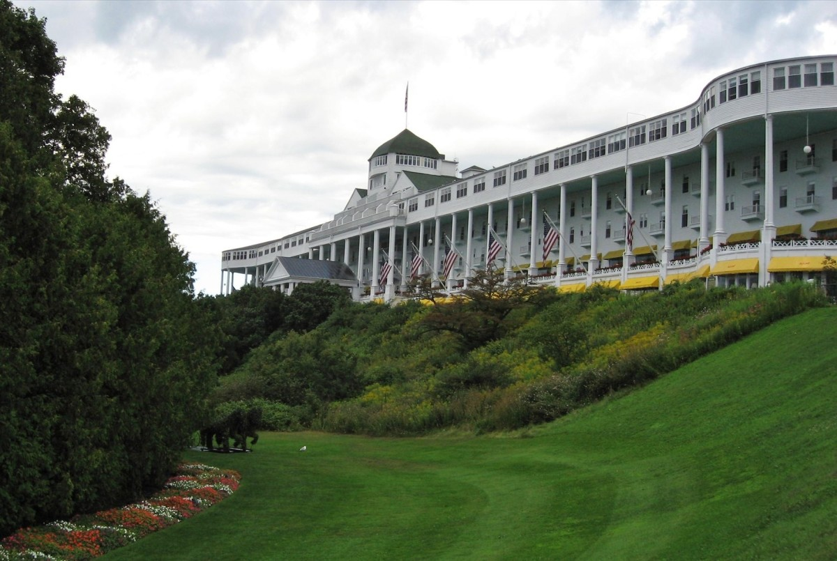 Mackinac Island Hotel and Grandeur ~ Movie Somewhere in Time