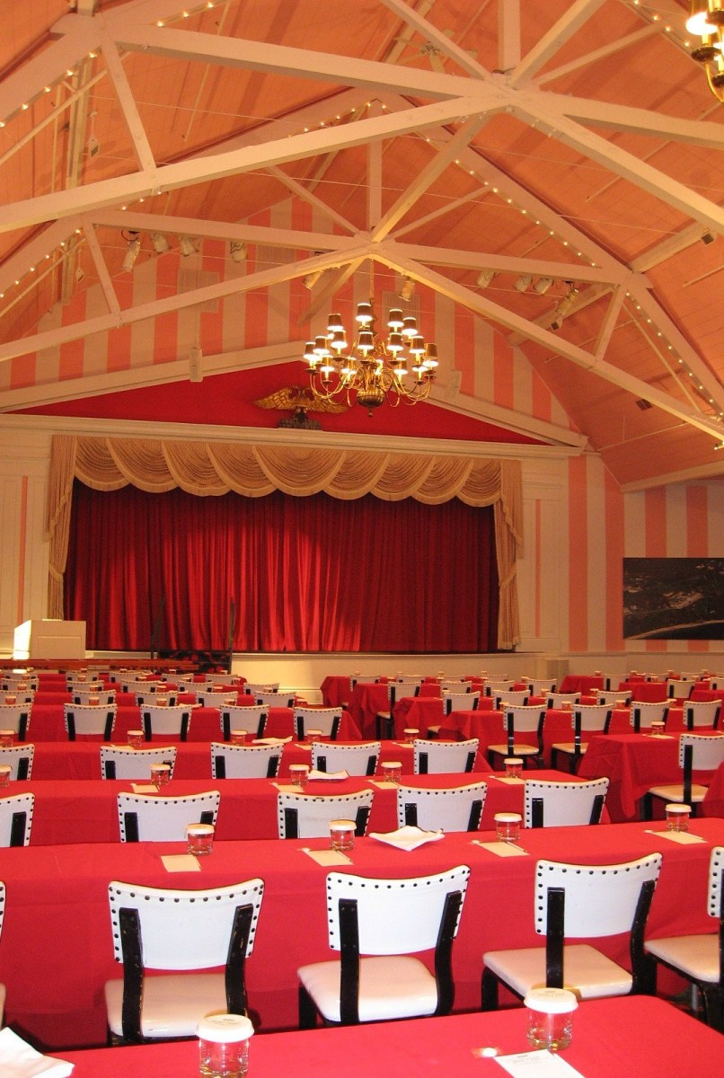 Stage / theatre at Grand Hotel