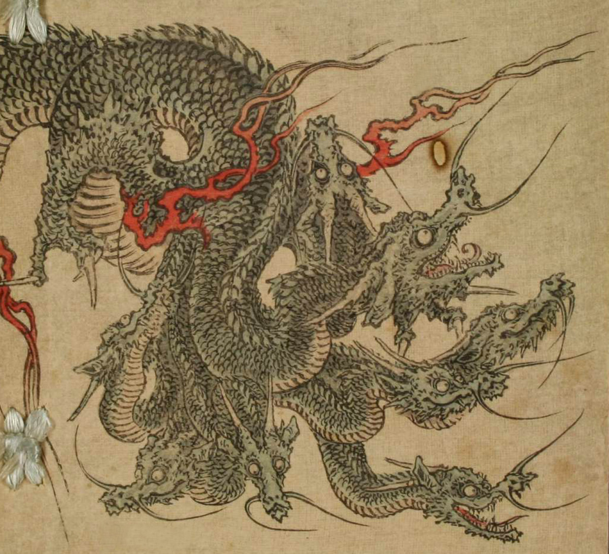 An illustration of Orochi.