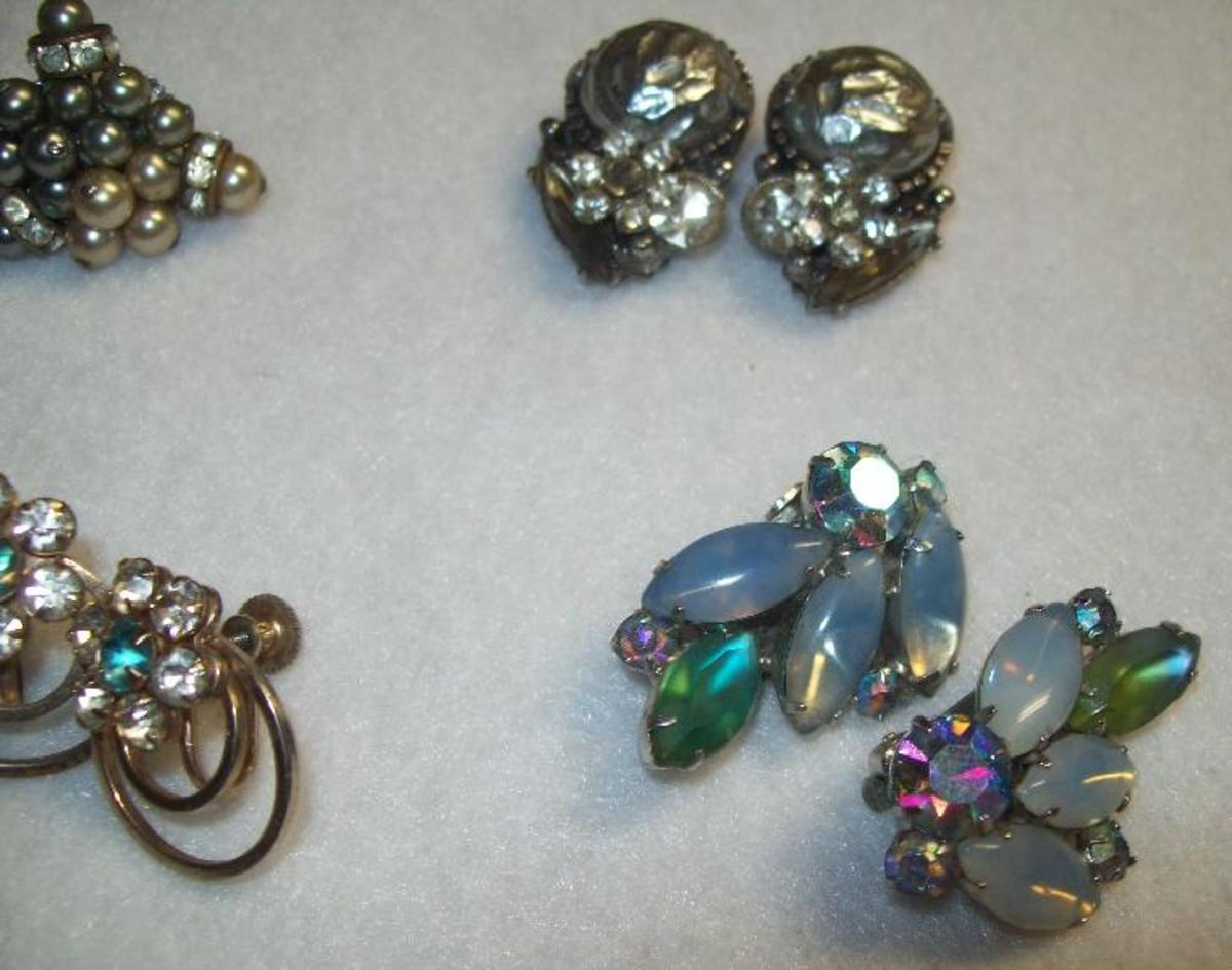 More interesting earrings.