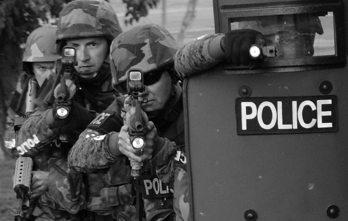 Militarizing the U.S. Police