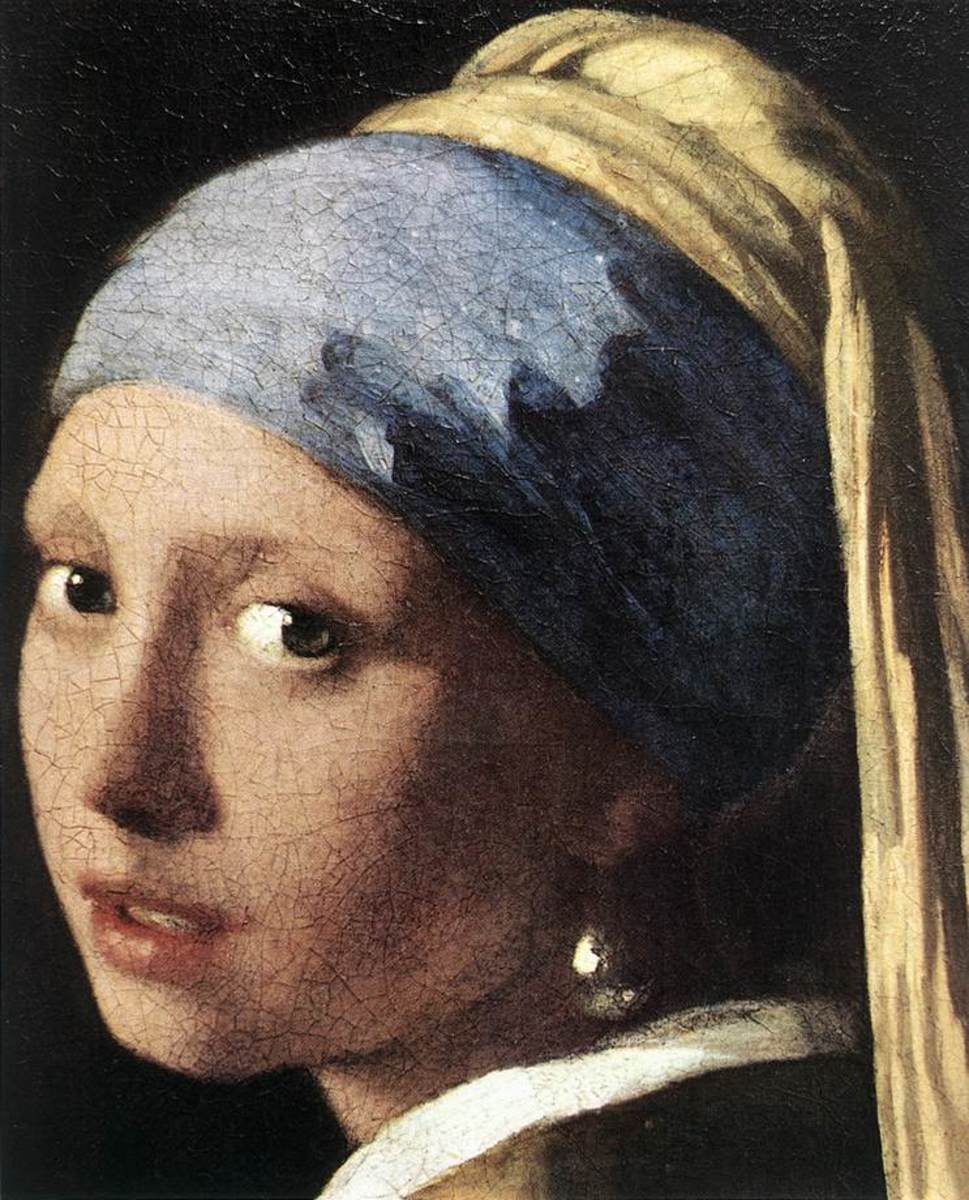 Top ten most famous paintings of the world for Johannes vermeer girl with a pearl earring