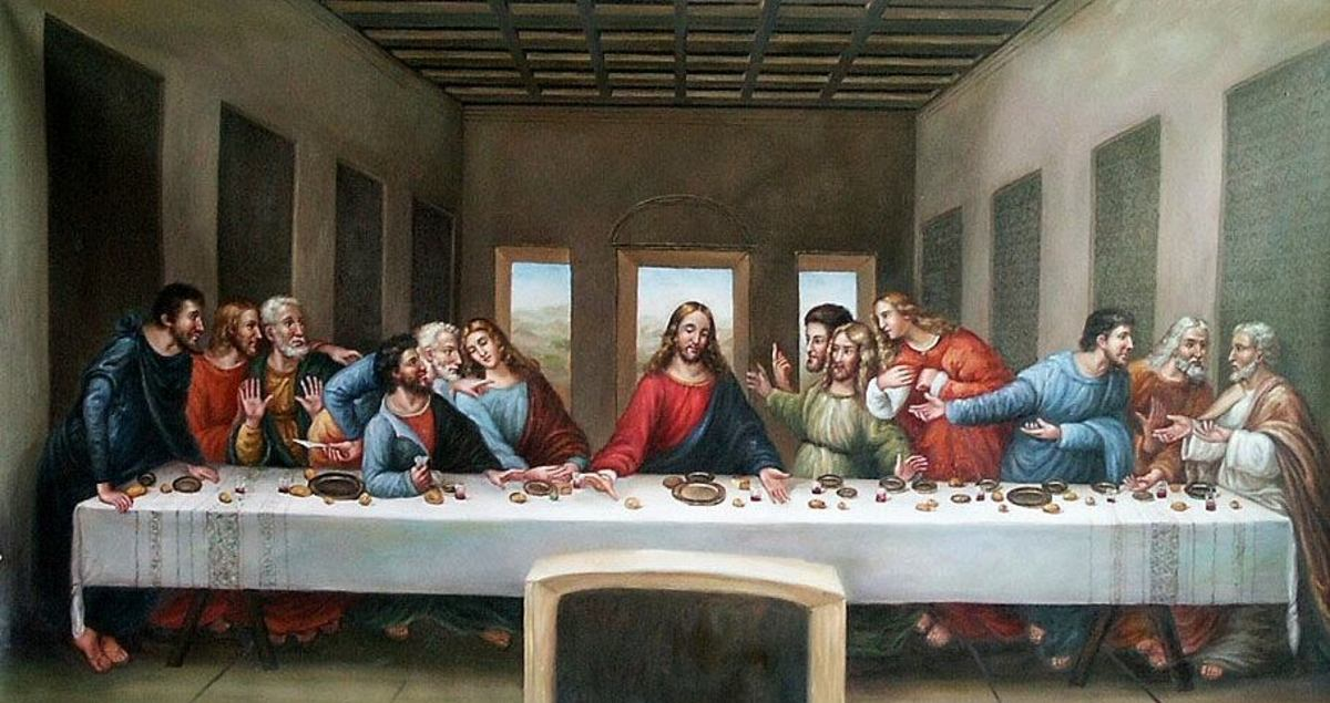 4. The Last Supper: By Leonardo Da Vinci