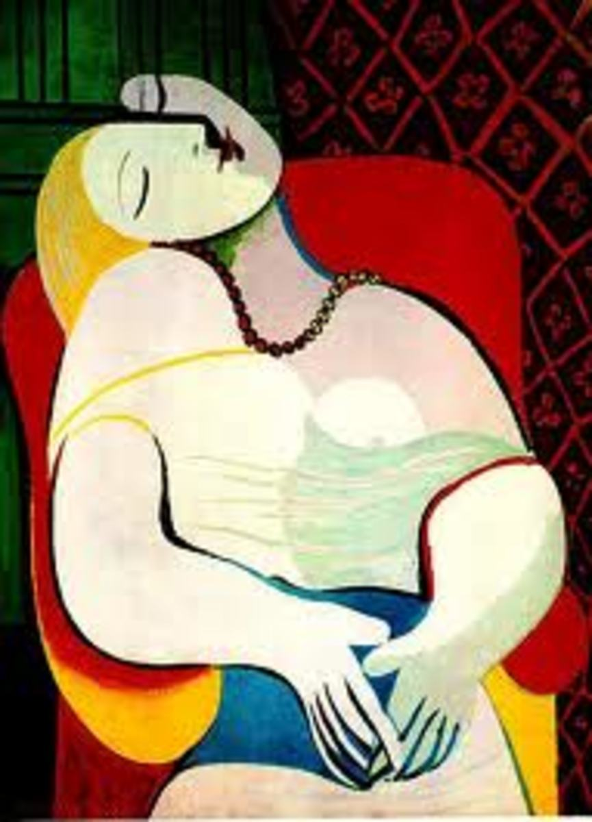6. The Dream: By Pablo Picasso