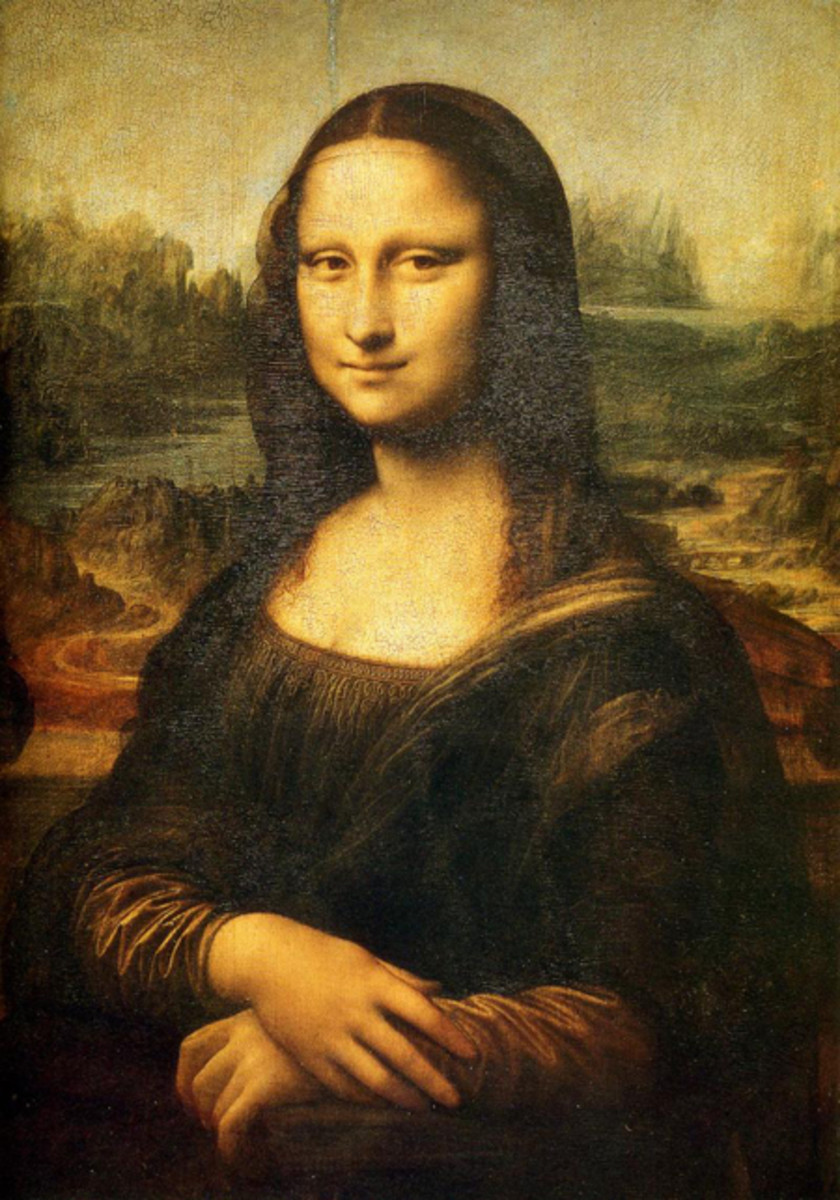 1. Mona Lisa: By Leonardo Da Vinci