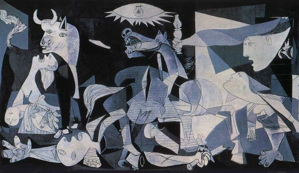 7. Guernica: By Pablo Picasso