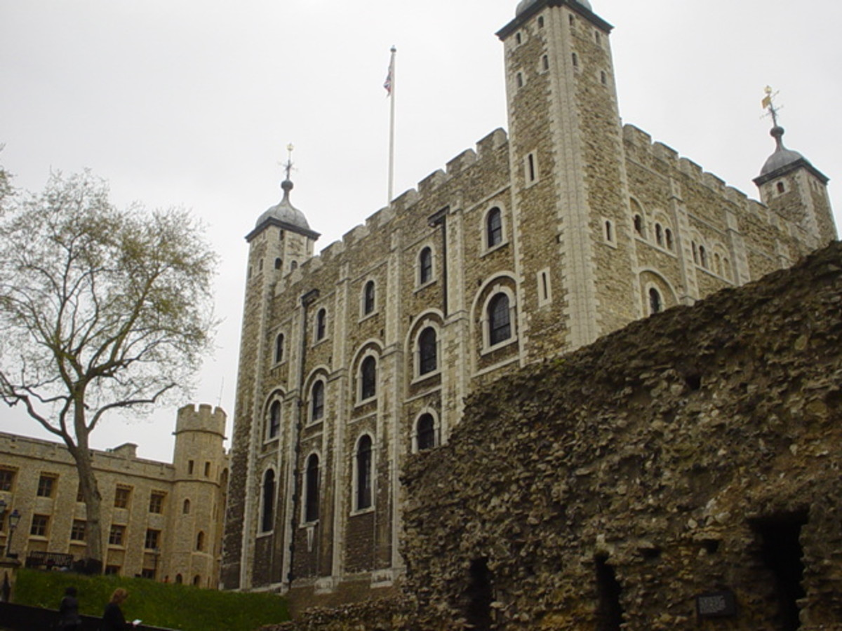 The Tower of London, the place where Madog would spend the rest of his days.