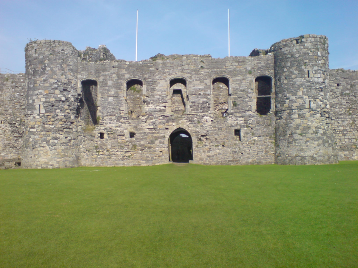 Beaumaris Castle, Anglesey.