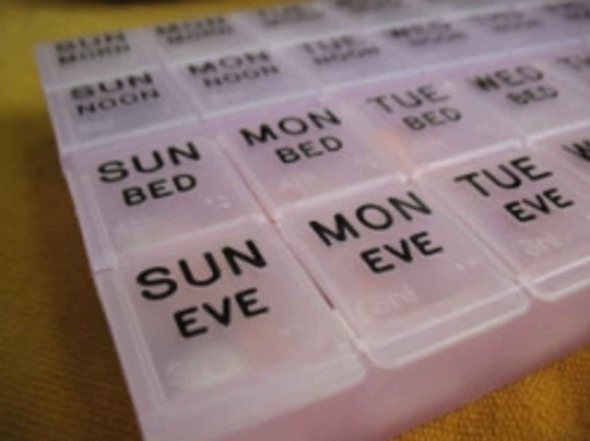 How to Refill a Weekly Pill Box