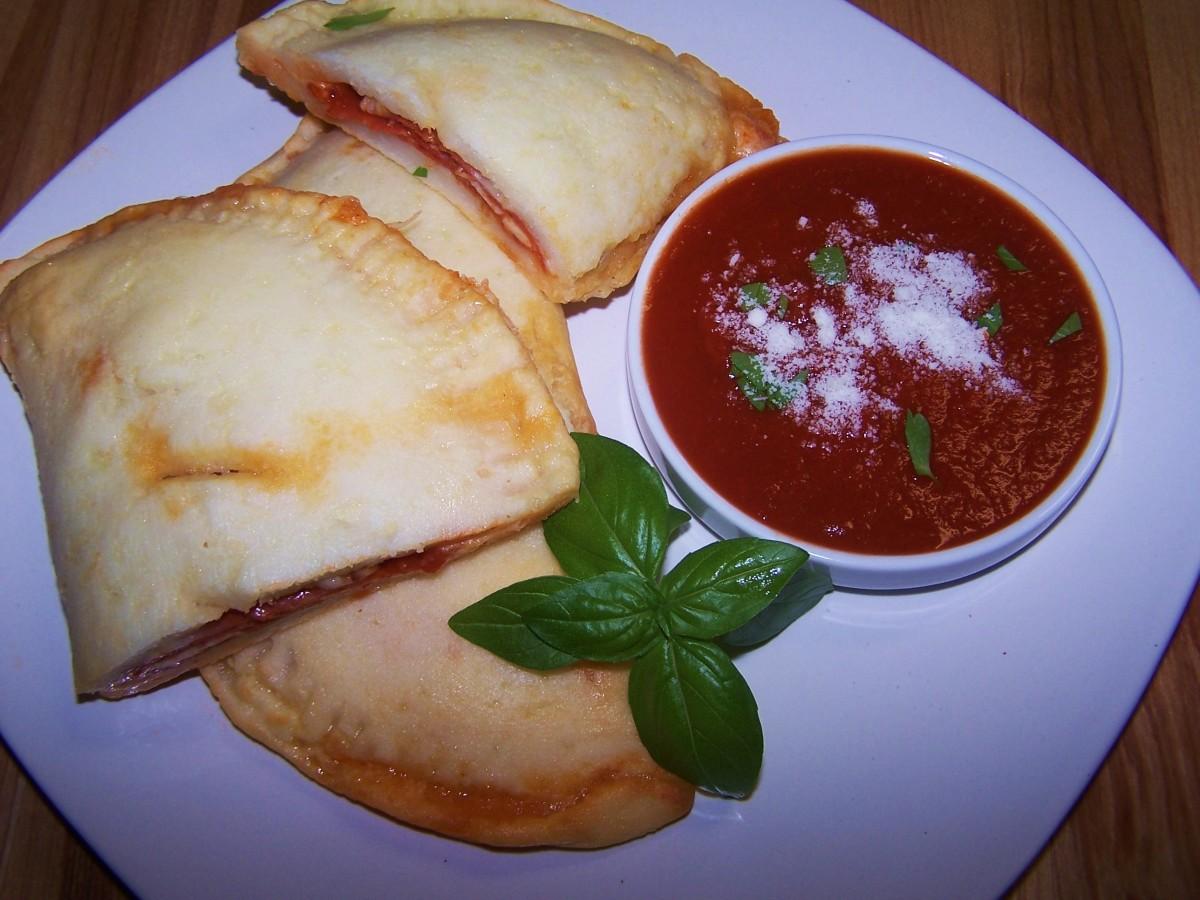 Pepperoni Calzone - Gluten Free