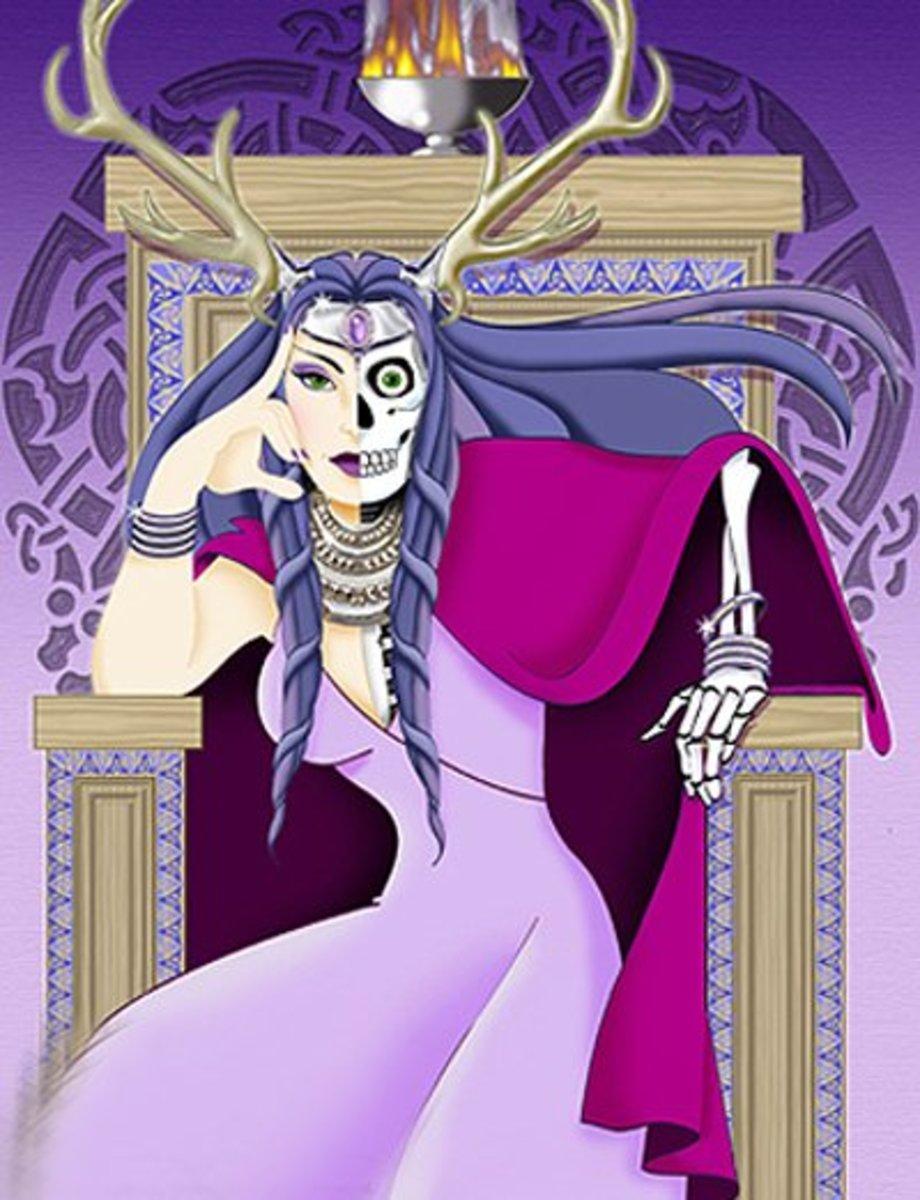 Hel - the goddess of Nilfheim ( the Norse Underworld)