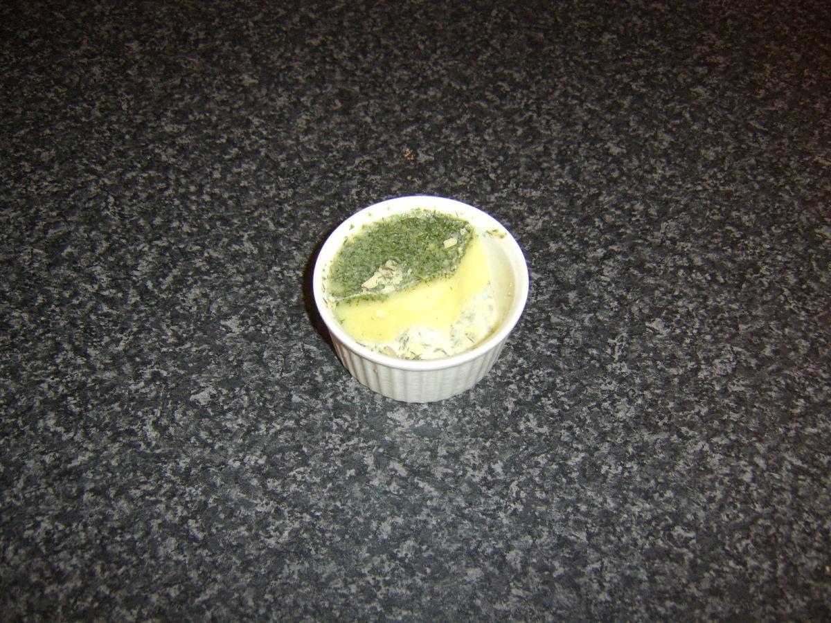 Dill herb butter