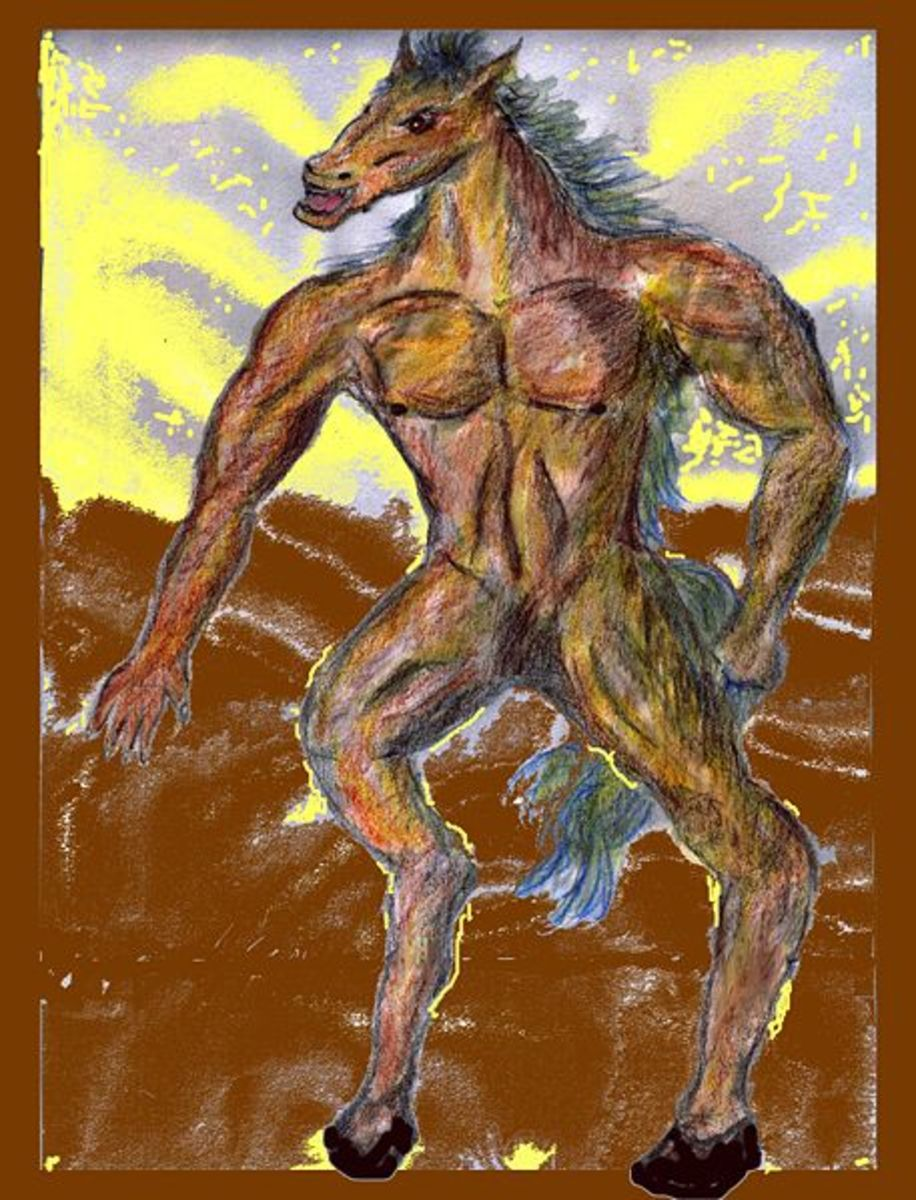 Philippine Folklore: The Creature Tikbalang (Demon Horse)