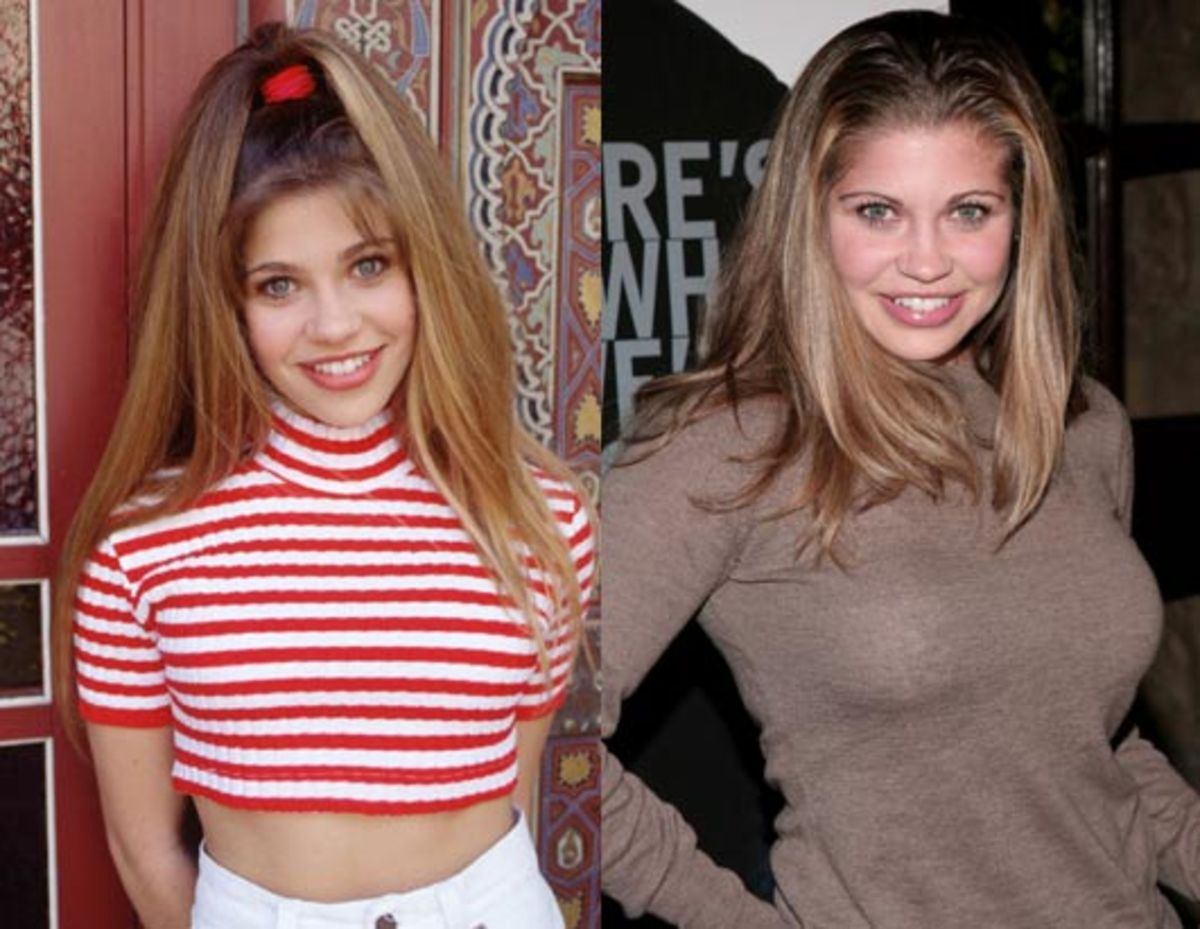 Danielle Fishel: Then and Now