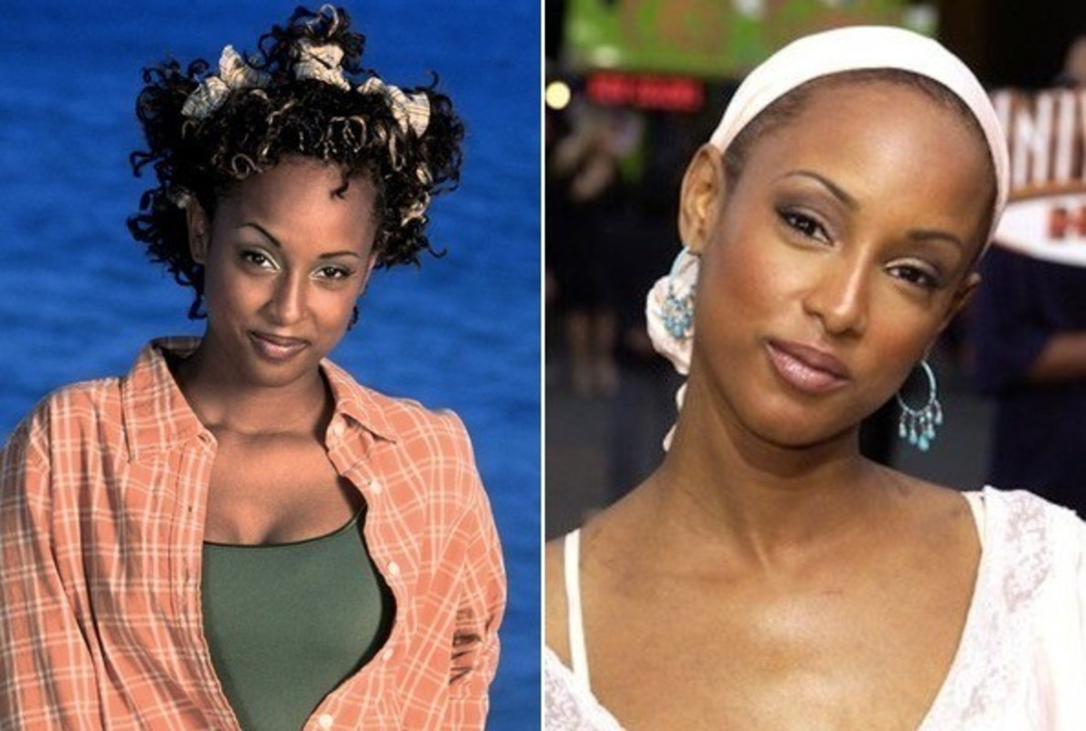 Trina McGee-Davis: Then and Now
