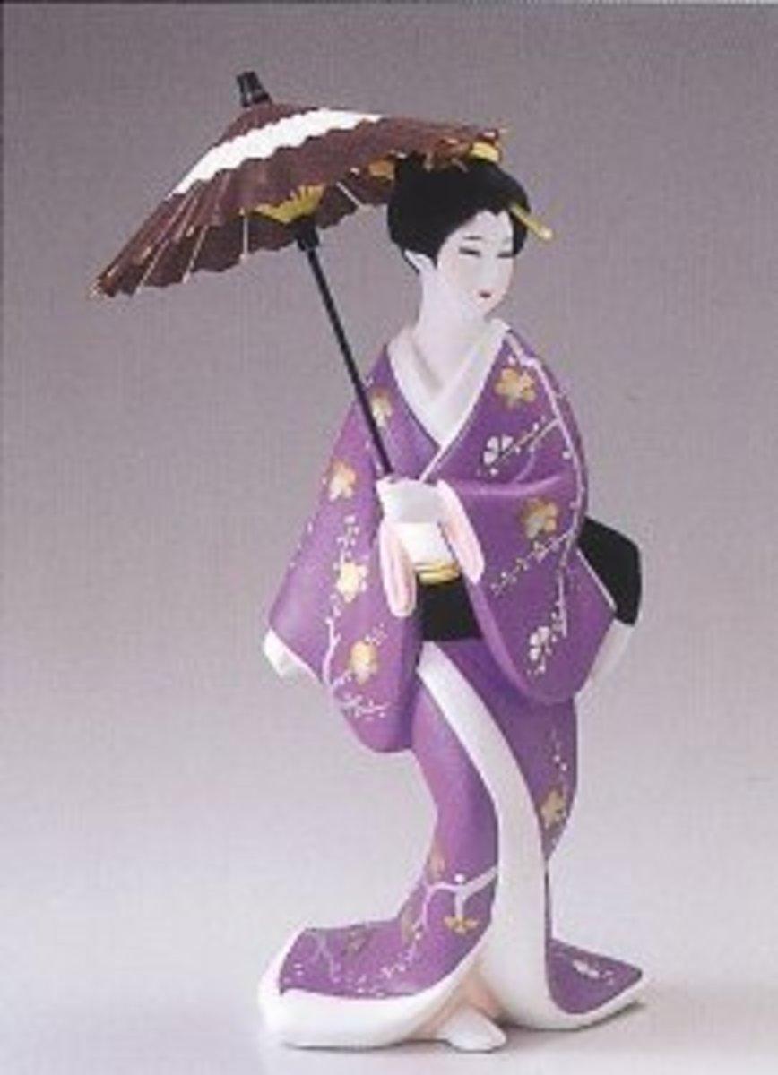 Gotou Hakata Doll Aizume Gasa No.0167
