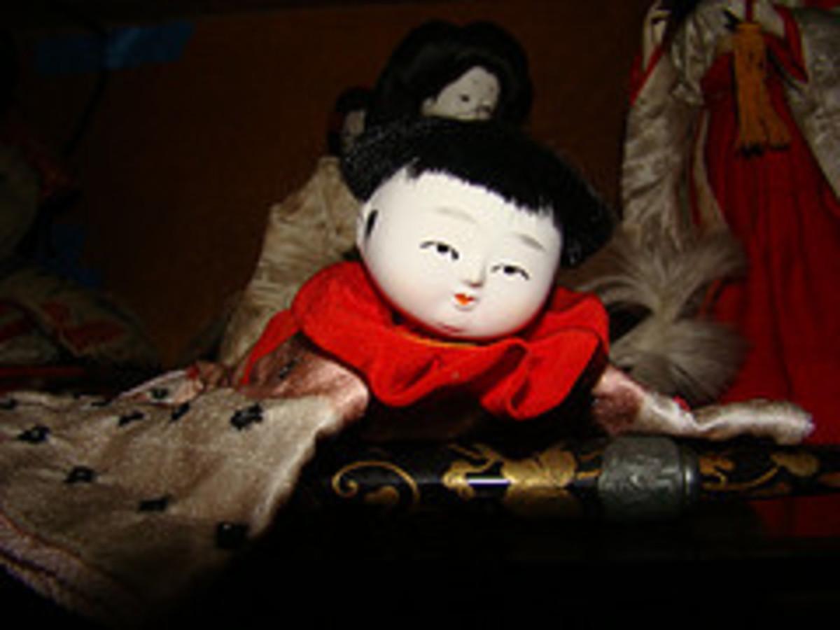 Little baby boy, symbolizes good fortune