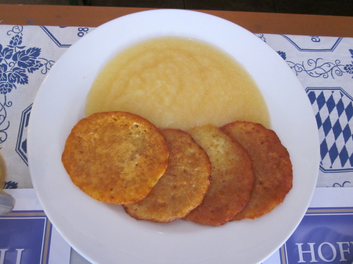 My Mother's Cooking - Potato Pancakes