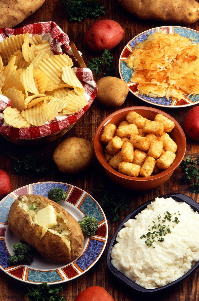 A Selection of Potato Dishes