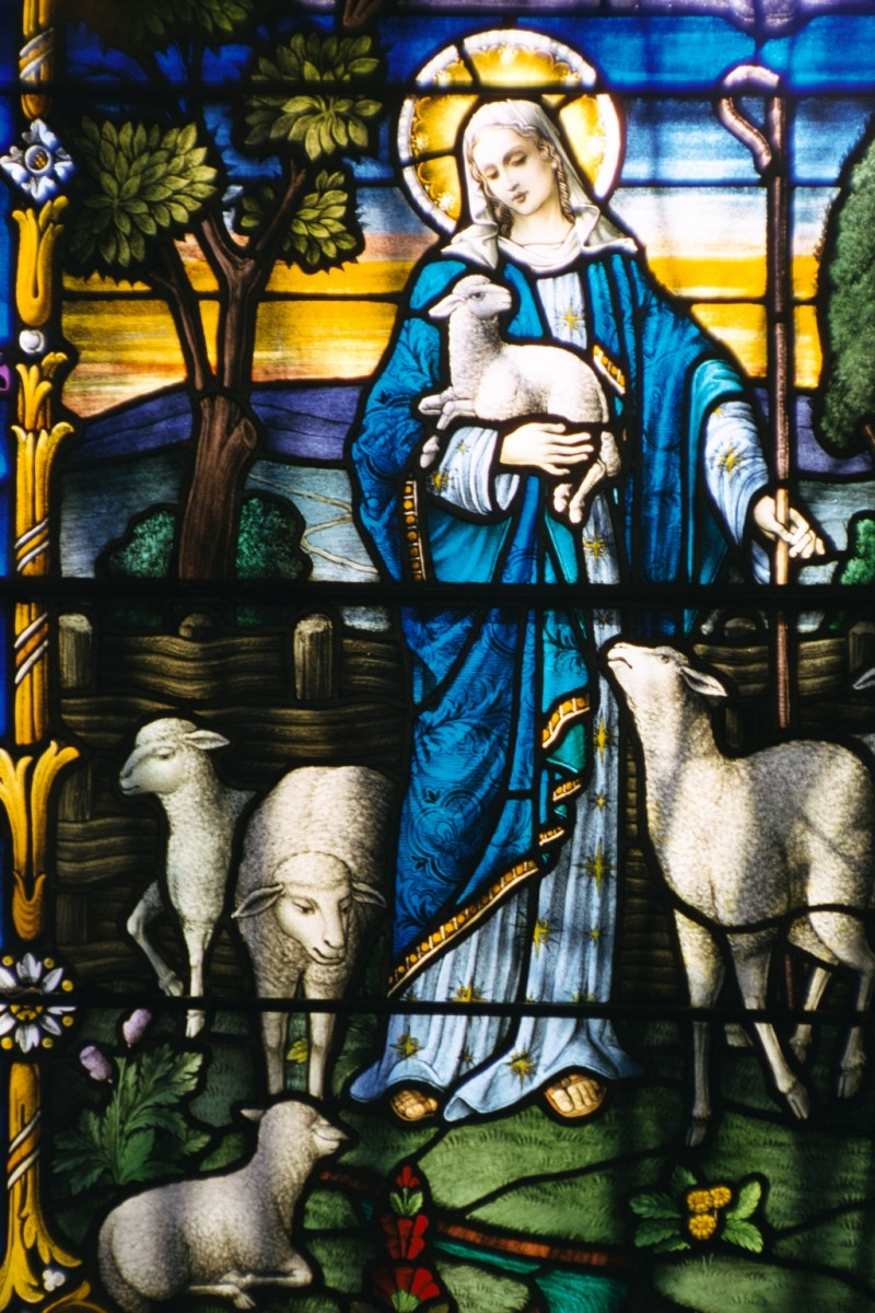 On Mother's Day and Good Shepherd Sunday