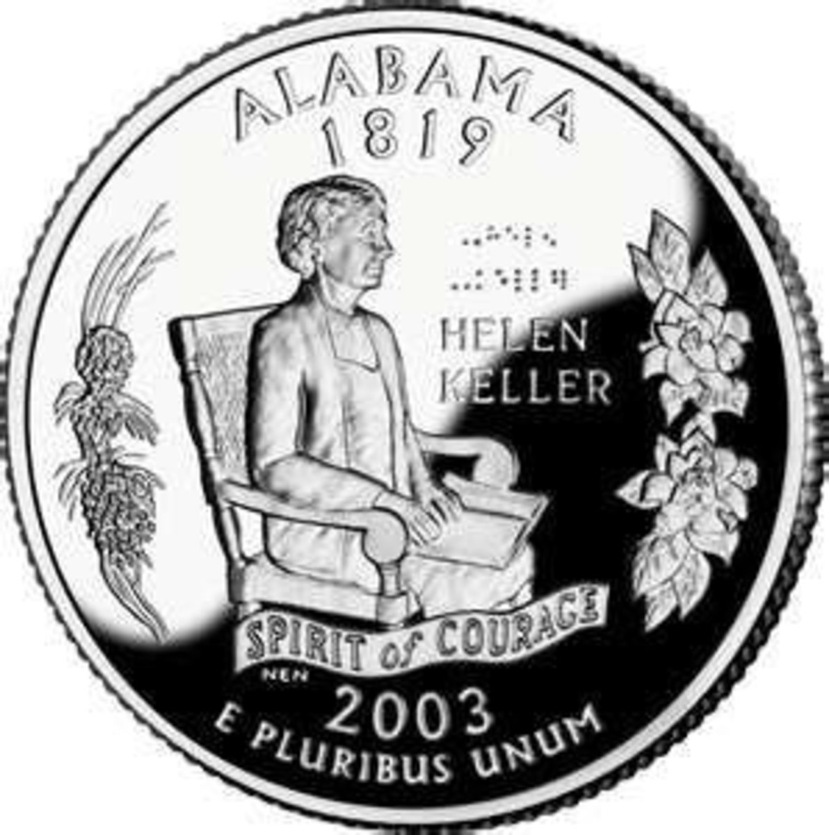 Alabama's State Quarter