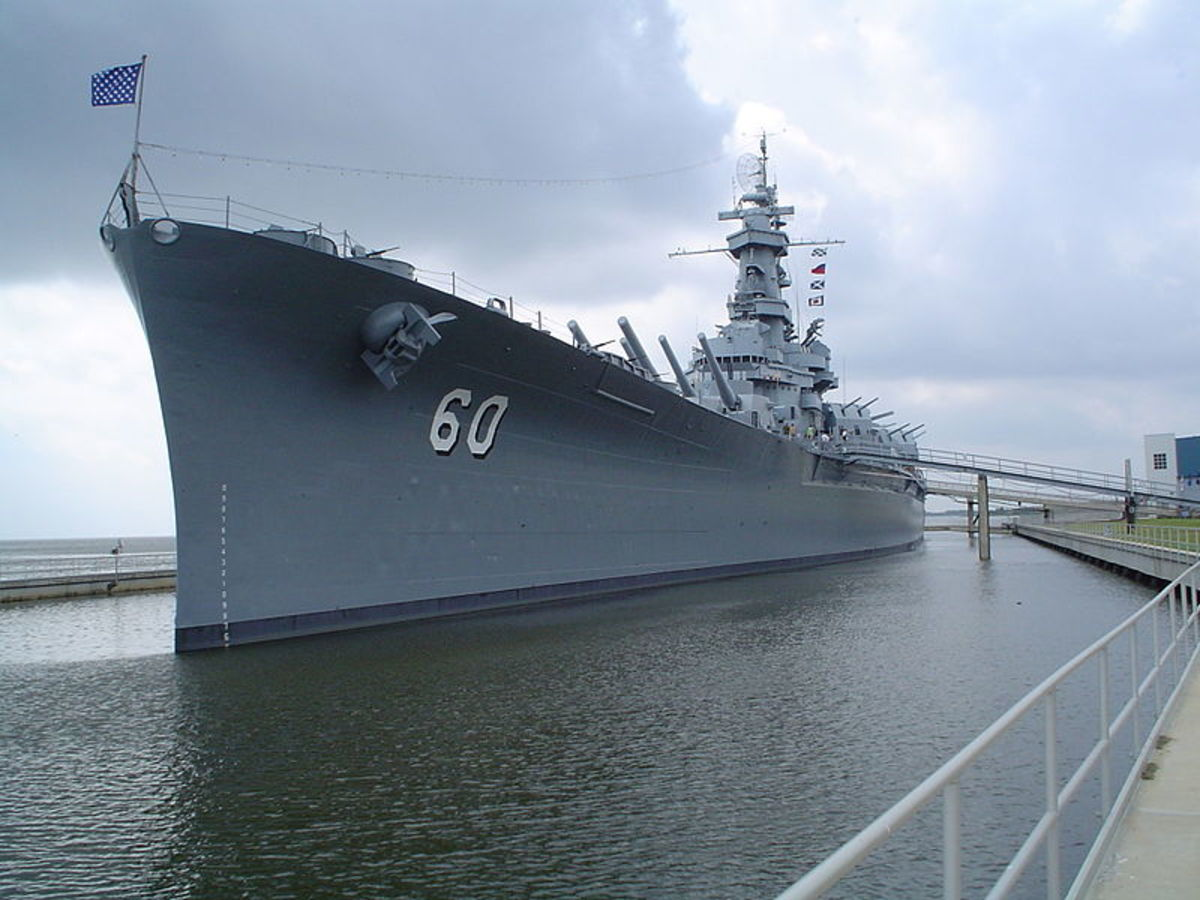 The USS Alabama (BB-60)