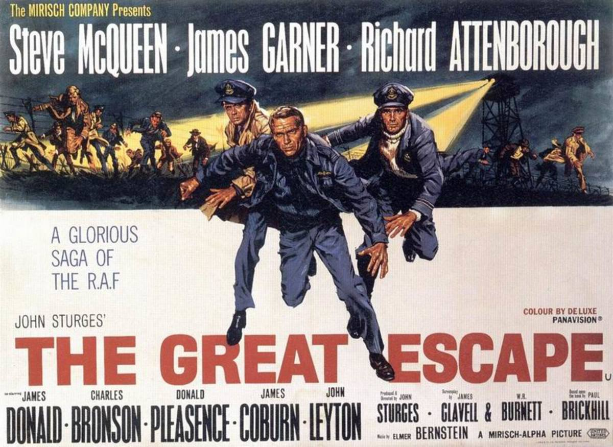 The Great Escape (1963) art by Frank McCarthy